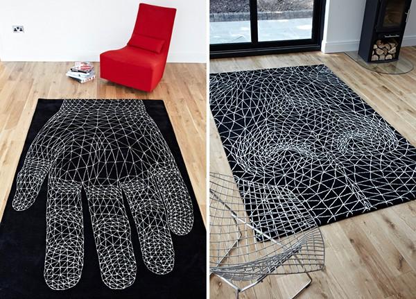 *Чувственные* ковры из коллекции Geometry of Sensibus