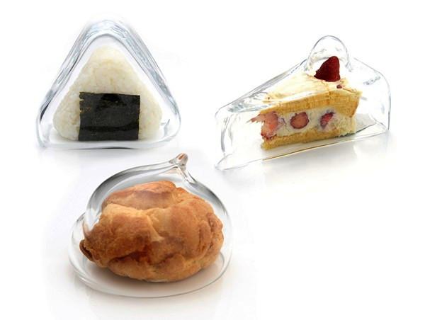 Стеклянные крышки Yum Yum Covers для определенного вида сладостей. Дизайн студии Switch