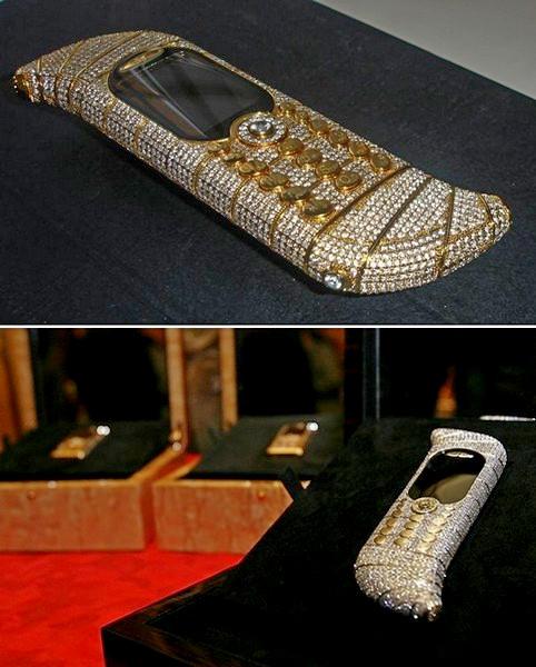 GoldVish Le Million, самый дорогой мобильный аппарат в мире