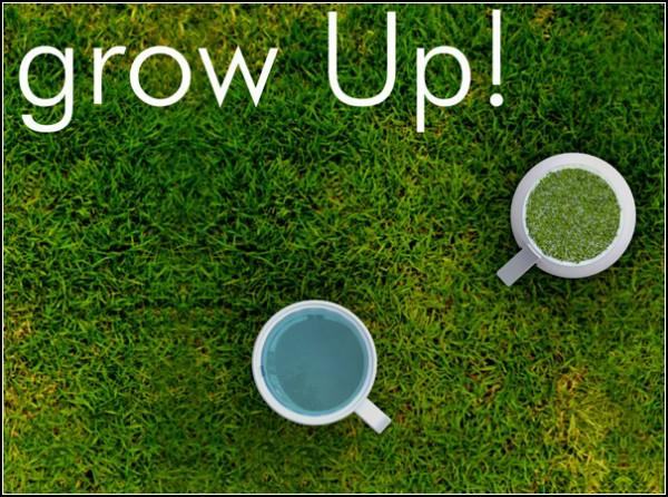 Кружка Grow Up с травяной *подставкой*