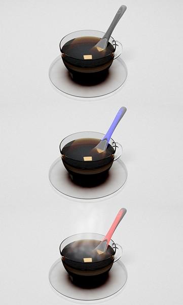 Самонагревающаяся ложка-концепт Halo Heating Spoon