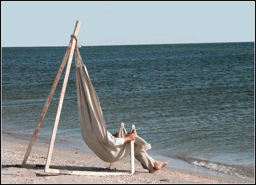 Hammock Chair от украинского дизайнера Юрия Цеглы