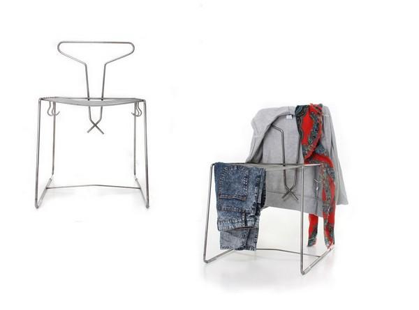The Hanger Chair, необычный стул-вешалка от Holly Hayward