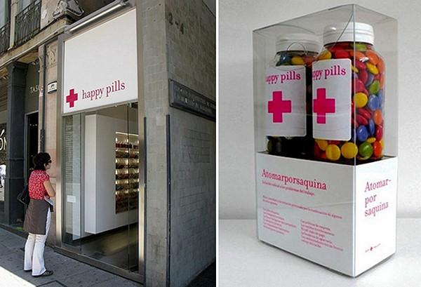 Happy Pill, дизайн-проект магазина со сладостями от Studio M