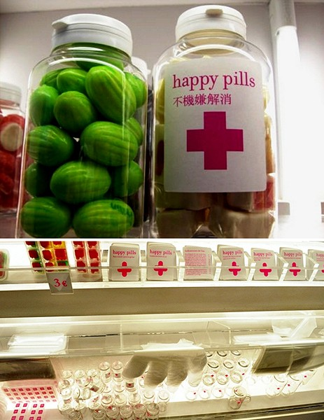 Happy Pill, аптека, где каждый сам выбирает себе лекарство