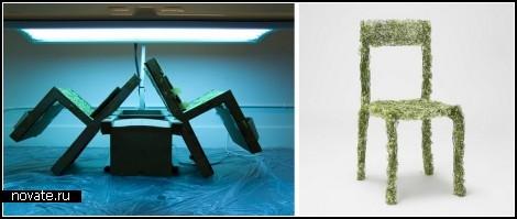 Арт-мебель Harvest от Asif Khan