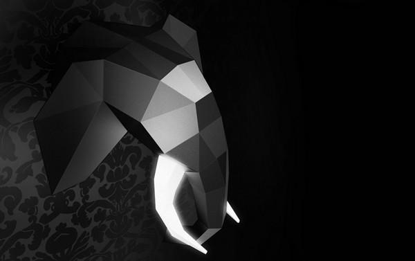 Hed Lyte, светильники в виде охотничьих трофеев