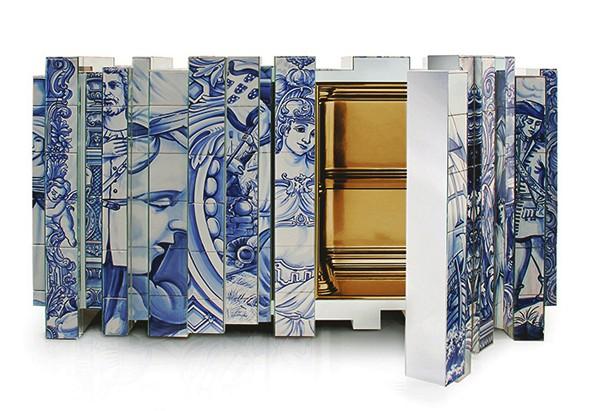 Дизайнерский шкаф как полноценный арт-объект.