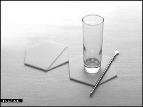 Циновка-подставка Hexis от Kitmen Keung