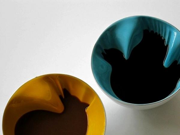 Hidden Animal Cereal Bowls, керамические тарелки с секретом