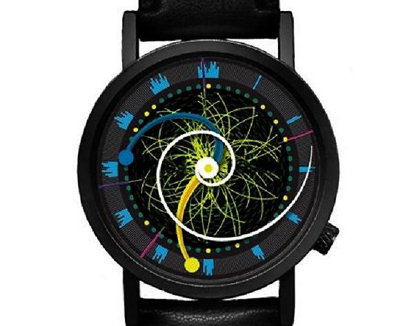 Концептуальные часы Higgs Boson Watch, посвященные бозону Хиггса