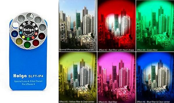 Эффекты, которыми Holga iPhone Lens изменяет сделанные фотографии