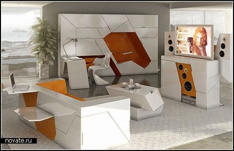 Концептуальная *мебель из коробки* от Rolands Landsbergs