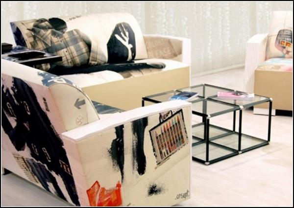 Креативная мебель с принтами. Проект Home Office от Филиппа Кудрэя