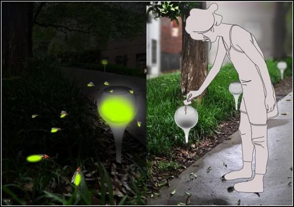 А Home of Firefly. Необычные фонарики из светлячков