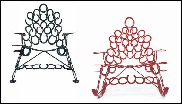 *Подкованные* стулья Horseshoe Chairs