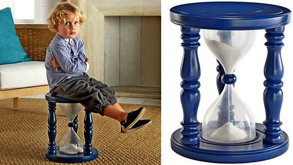 Time-Out Timer Stool,