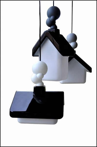 Избушки со светом House Lights