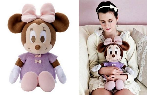 *Дышащая* игрушка Hug and Dream Minnie для уютных объятий