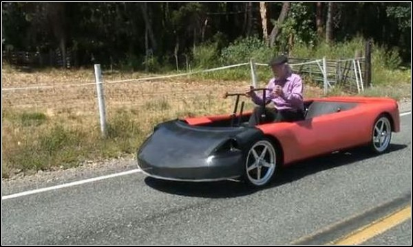HumanCar, автомобиль-симулятор для занятий греблей
