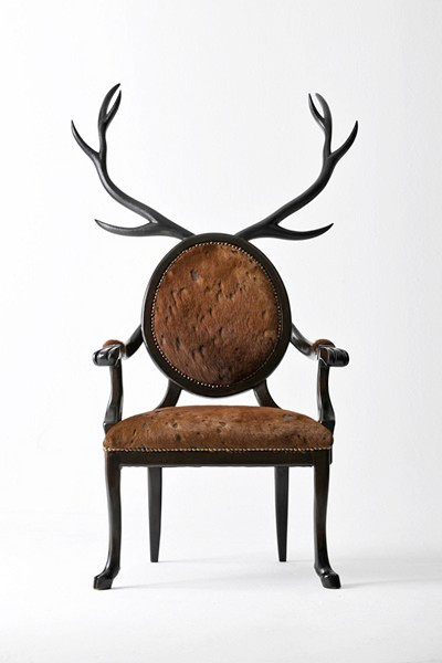 Зооморфные стулья из серии Hybrid chairs