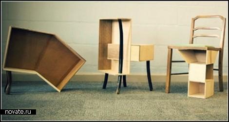Креативная мебель от IKEA-хакера Wiyono Sutjipto