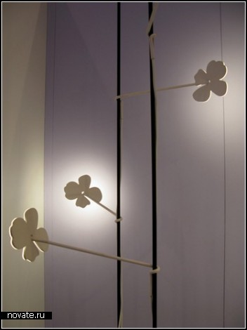 Светло и красиво.  Система освещения Ikebana lighting от Peter Stathis...