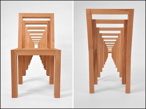 Необычный стул-матрешка Inception Chair