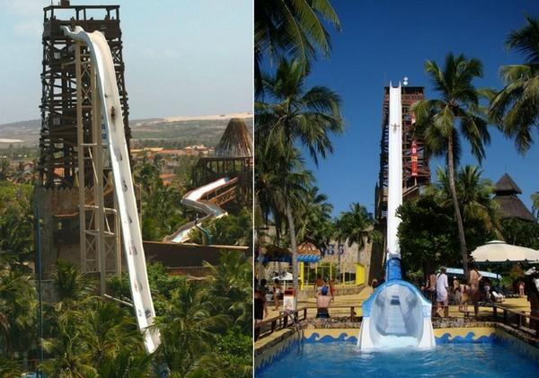 Insano water slide. Самая высокая в мире водная горка
