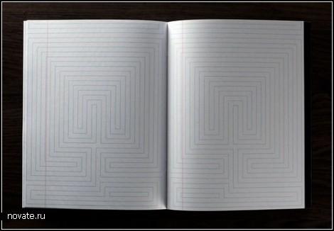 Необычные тетрадки Inspiration Pad от Marc Thomasset