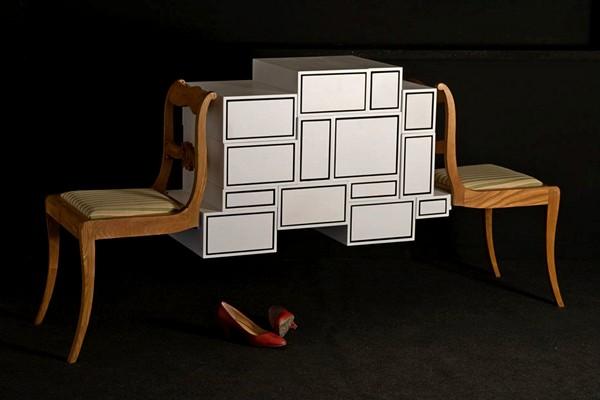 Instabil Kommode, дизайнерский комод из прошлого и настоящего
