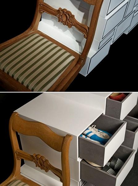 Вопреки принципам дизайна и законам физики. Современная мебель Instabil Kommode