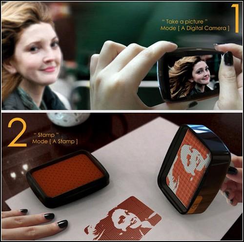 Моментальная печать фотографий при помощи Stamp.y