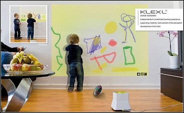 Автомат для виртуального рисования KLEXL Interactive Painting machine