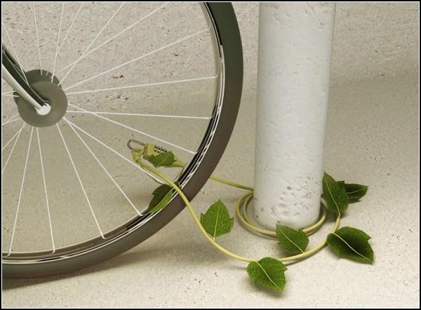 Необычный велосипедный замок Ivy Padlock