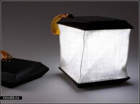 Мини-светильник на солнечной энергии от Джеспера Йонссона (Jesper Jonsson)