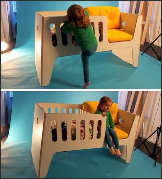 Детская кроватка для детей разного возраста