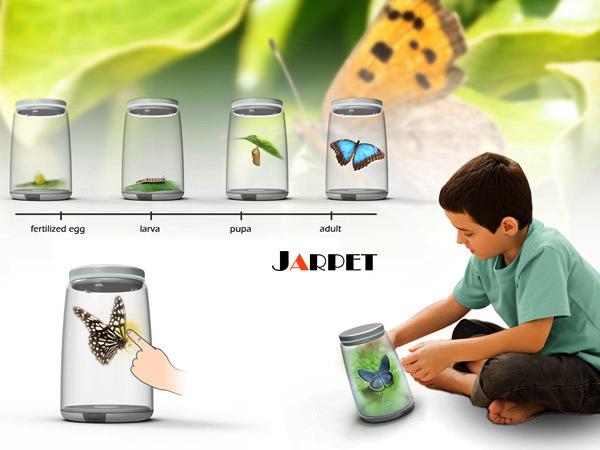 Jarpet виртуальный питомец в банке