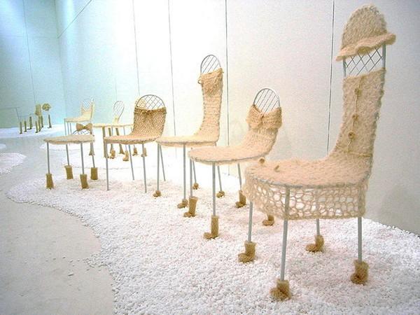 Family Chairs, коллекция стульев для всей семьи от Junya Ishigami