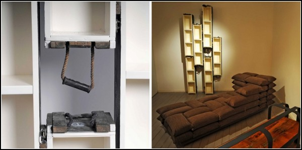 Kalab Exhibition. *Военная* мебель