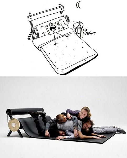 Karpett, интересный концепт многофункционального коврика