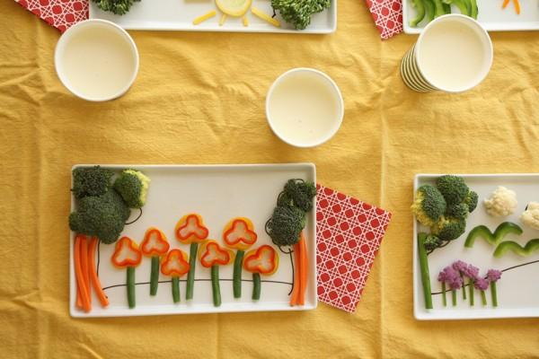 Детские тарелки для игры едой