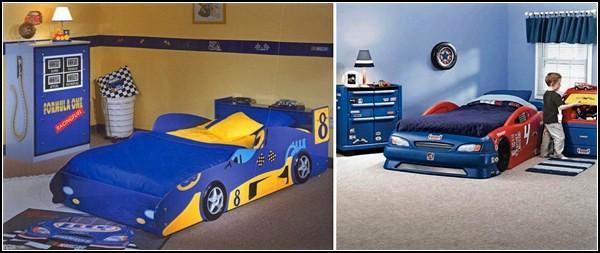 Шикарные тачки - шикарные кровати для будущих Шумахеров