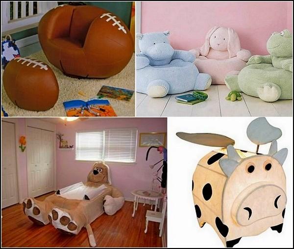 Оригинальная детская мебель. Обзор