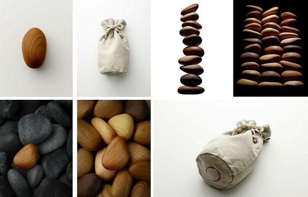 Благотворительный дизайн-проект Kinoishi от Taku Satoh
