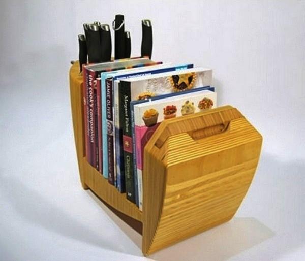 Kitchen Bull, кухонная полочка-бык от дизайнера Toro Legno