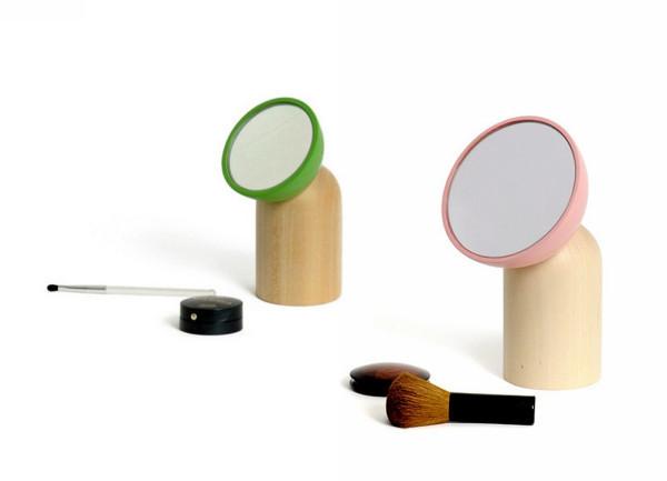 Минималистичный дизайн настольных зеркал из серии Ki Ko Koi