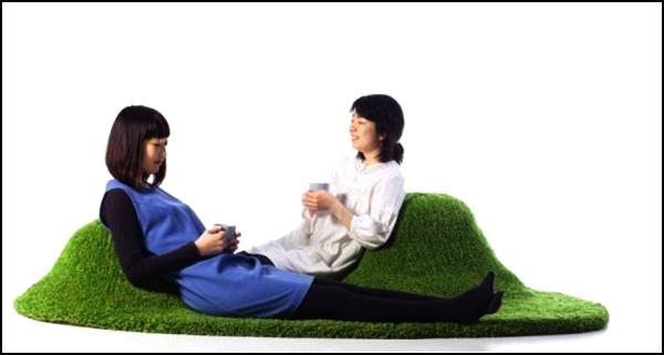 Ковер-лужайка Koke-a от Kana Nakanishi
