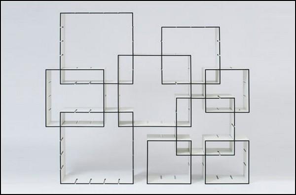 Модульная система полок Konnex