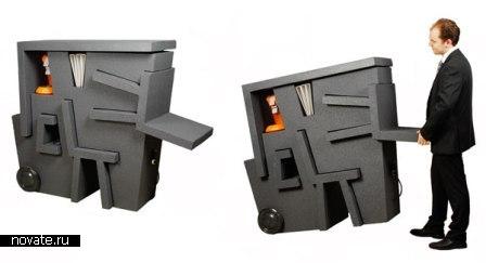 Kruikantoor. Компактная и легкая мебель для офиса